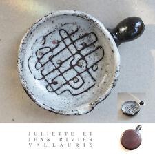 Poêlon céramique Juliette & Jean Rivier Vallauris