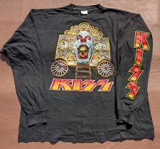 More details for vintage long sleeve shirt kiss psycho circus 1999 tour not a tee shirt xl