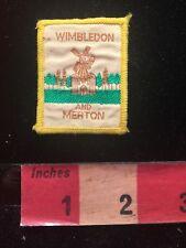 United Kingdom WIMBLEDON & MERTON Patch England - Dutch WindMill 82V9