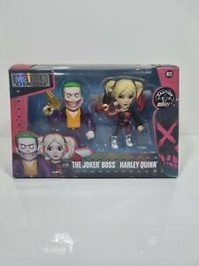 Jada Metals Suicide Squad Metals Die Cast The Joker Boss & Harley Quinn