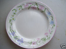 "1990 Newcor Avignon Stoneware China Floral 10 1/2"" Dinner Plate"