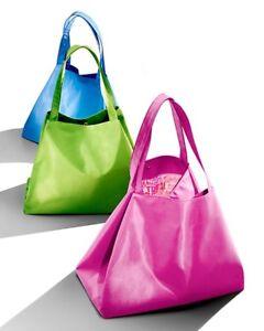 Bloomingdale Plastic Tote Travel Bag