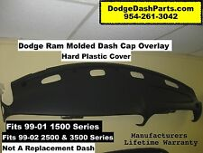 Dodge Ram Dash Cap Overlay Hard Plastic Cover Fits 99-02 Pick Up Truck / AGATE