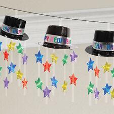 Superbe 3D Chapeau Guirlande Bonne Année Décoration pour Fête Bannière Guirlande