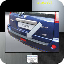 Exklusiv RGM Ladekantenschutz Silber-Look für Nissan X-Trail I T30 SUV 2003-2007