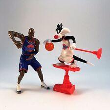 Space Jam Michael Jordan & Sylvester Sky Stilts & Plunger Figure Playmates 1996