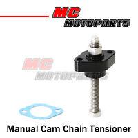 Black CNC Manual Cam Chain Tensioner For Honda CRF450R 04-14 05 06 07 08 09 10