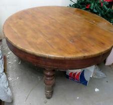 DL8 Grande tavolo Luigi Filippo  in noce di area napoletana . 1860 circa