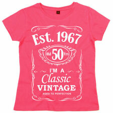 Camisetas de mujer de manga corta LA 100% algodón