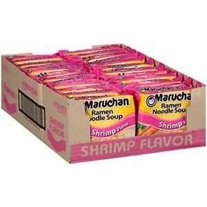 Maruchan Ramen Shrimp 3.0 Oz 24 Count