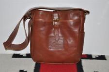 Ralph Lauren Shoulder Canteen Leather Messenger Mail Bag
