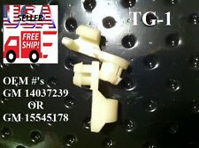 1981 - 1998 Chevy C/K C1500 C2500 C3500 Silverado Tailgate Handle Rod Clips TG1