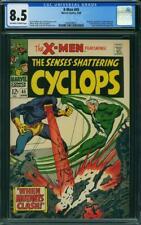 X-men #45 CGC 8.5 -- 1968 -- Cyclops battle Quicksilver. Buscema cvr #2049548017