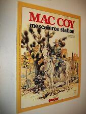 L'ETERNAUTA:N.174 MAC COY:MESCALEROS STATION. COMIC ART GENNAIO/FEBBRAIO 1998 OK