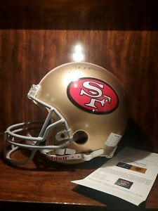 Joe Montana 49ers Riddell FS Helmet Autographed Upper Deck Authenticated