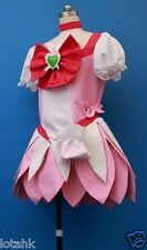 HeartCatch PreCure! Tsubomi Hanasaki  Cosplay Costume Custom Made