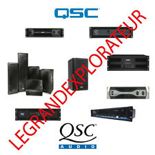 Ultimate  QSC Audio schematics, drawings, owner & service manuals (PFD manual s)