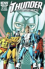 Us Comic pack thunder agents 1-4 (sub) réagit IDW