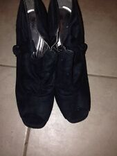 Worn Woman Peep Toe Bootie Size 11