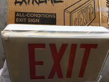 Lithonia Lighting All Condition LED Exit Sign LV S W1R LVSW1R 120/277 4PH57