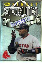 "2014  TOPPS    ""FINEST""   STERLING  #TS-DO  DAVID ORTIZ"