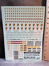 DECALS 1/43 ECUSSONS BADGES PORSCHE - COLORADO  4302