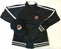 New Team Canada Hockey Youth Large (14-16) Jacket With Team Canada Hat