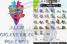 Pokemon Sword And Shield Shiny 6IV Gigantamax Pokemon Pack With HA Trade Guide