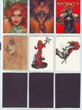 DAWN ANOTHER CARD SET CHASE SET OF SIX S1-S6 1998