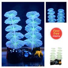 Glowing Effect Artificial Plastic Plant for Aquarium Decor Fish Tank Ornament