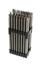 """ABN Extra Long Security Bit Set 32-Piece 6"""" Inch 1/4"""" Shank Star, Tamper"""