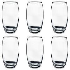 Hi Ball Glasses Water Juice Highball Drinking Tumbler Juice Glass 510ml x6