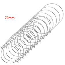 12pcs General Jar Lid Hanger Stainless Steel Wire Handles Compatible 70mm MouNS