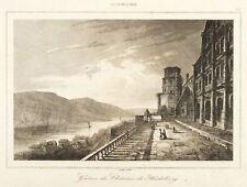 HEIDELBERG - HEIDELBERGER SCHLOSS - ALTAN - Lemaitre - Stahlstich 1838