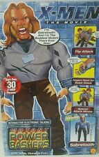 "SABRETOOTH X-Men 20"" Interactive Electronic Talking Figure Mutant Power Bashers"