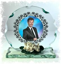Daniel O'Donnell Photo creative Glass Round Frame Plaque Limited Edition #4