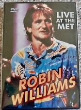 Robin Williams LIVE AT THE MET DVD, 1986 Hilarious Sealed NEW, Region 1