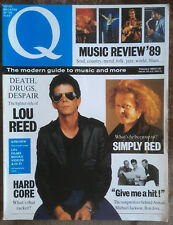 Q magazine - Lou Reed, Simply Red and more (February 1989 - Issue 29)
