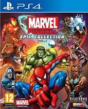 PS4 Marvel Pinball Greatest Hits Volume 1 PS4 - Sealed - 1st Class Delivery