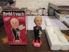 NHL Detroit Red Wings Budd Lynch Announcer Bobblehead