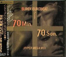 SUPER EUROBEAT presents 70min.70son. - Japan CD VIRGINELLE LINDA ROSS ANNALISE