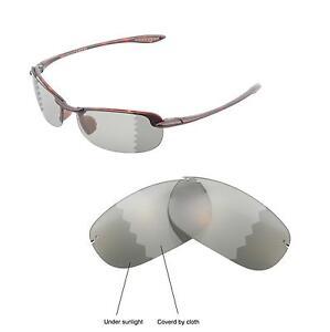 Walleva Polarisiert Transition/Brillengläser Für Für Maui Jim Makaha