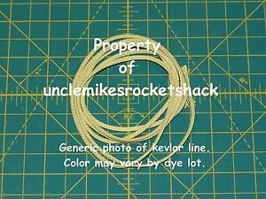 Braided Made With Kevlar Line 500# Great For Shock Cords 10'