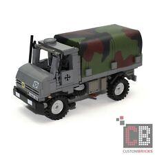 CustomBricks Bundeswehr 2t Unimoc U1300-L Tank aus LEGO® Steinen