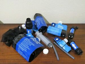 Sawyer Water Filter System and 2 Sawyer Minis