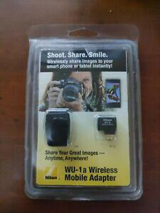 NIKON WU-1a Wireless Mobile Adapter for Nikon DSLR Camera Remote Control