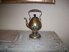 Antique Brass Tea Pot Great Collectible