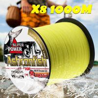 Braided fishing line 8 strands 1000m Super Strong Japan Multifilament PE braid