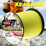 Braided fishing line 8 strands 1000m Super Strong Japan Multifilament PE braid