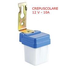 Interruttore Sensore Crepuscolare 12V DC da 10A per Lampade LED - IP44